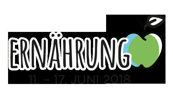 Aktionswoche 1 vom 11. - 17. Juni 2018: Ernährung