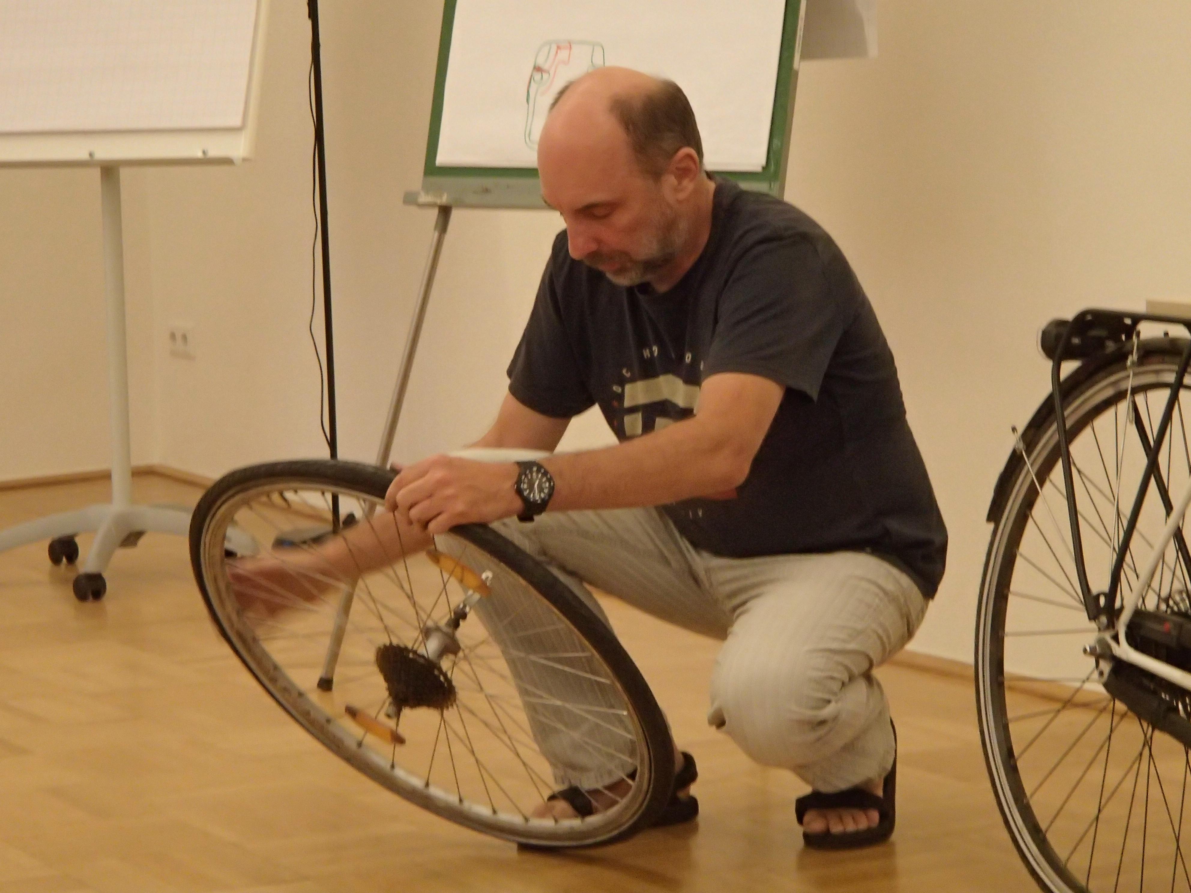 Fahrradtechnikworkshop für Alltagsradler.innen